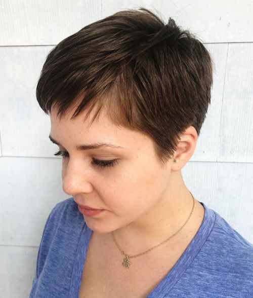 Women's Very Short Boyish Haircut