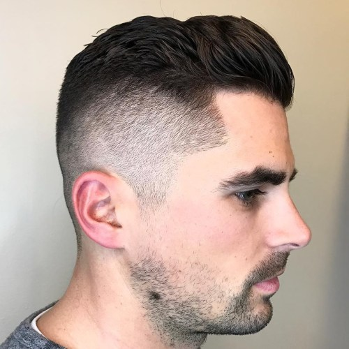 High And Tight Taper Haircut