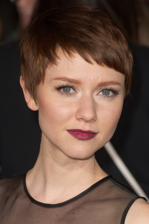 Pleasing Pixie Haircuts With Bangs 40 Terrific Tapers Short Hairstyles Gunalazisus