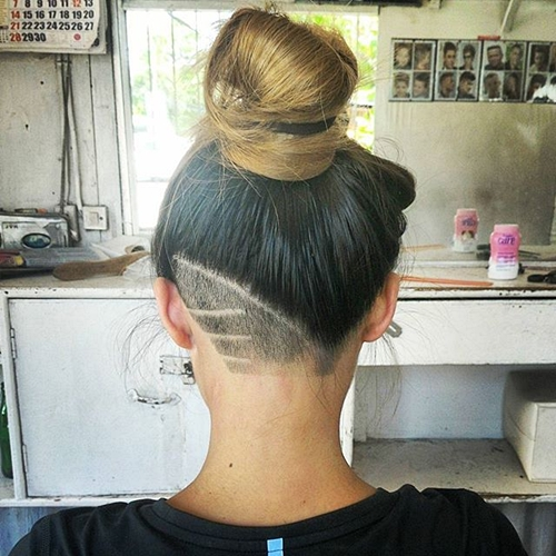 Strange 50 Womens Undercut Hairstyles To Make A Real Statement Hairstyles For Men Maxibearus