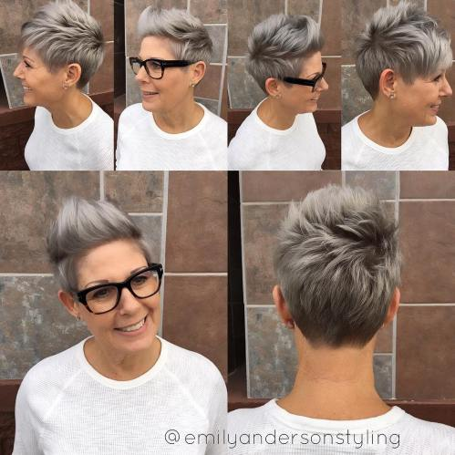 Trendy Textured Pixie Cut