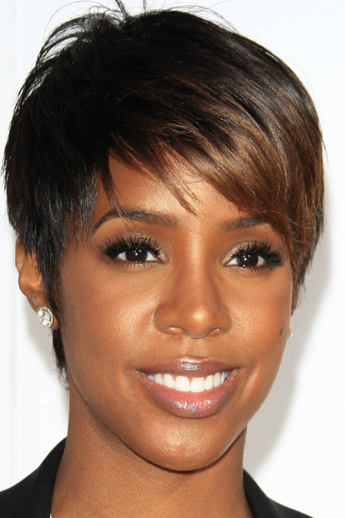 Pleasant 20 Black Hairstyles With Bangs Oozing Mismatched Chic Short Hairstyles Gunalazisus