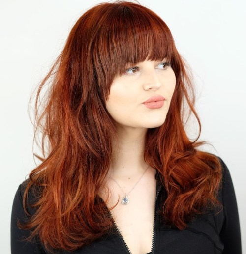 Red Waves with Full Fringe