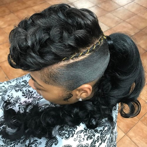 Sensational 30 Classy Black Ponytail Hairstyles Short Hairstyles Gunalazisus