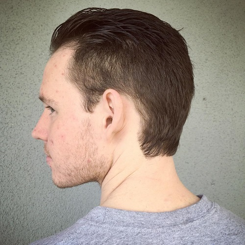 men's haircut for thinning hair