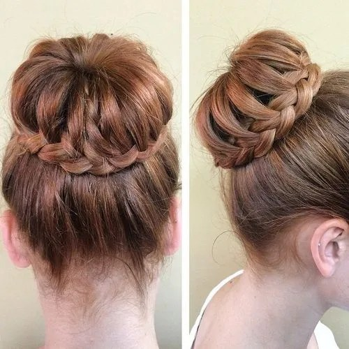 Wedding Hairstyles Bun With Braid: 35 Braided Buns Re-inventing The Classic Style