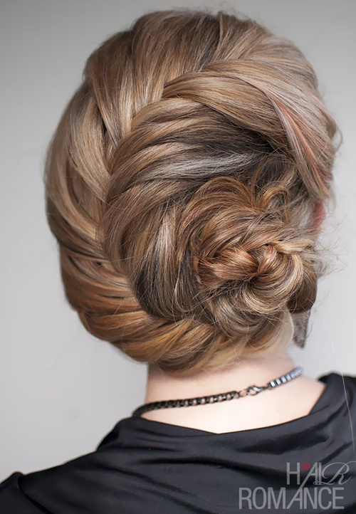 20 formal updos for the most exciting days in your life seashell braided updo pmusecretfo Choice Image
