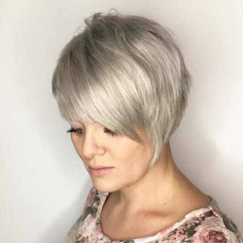 Groovy 60 Gorgeous Long Pixie Hairstyles Hairstyles For Women Draintrainus