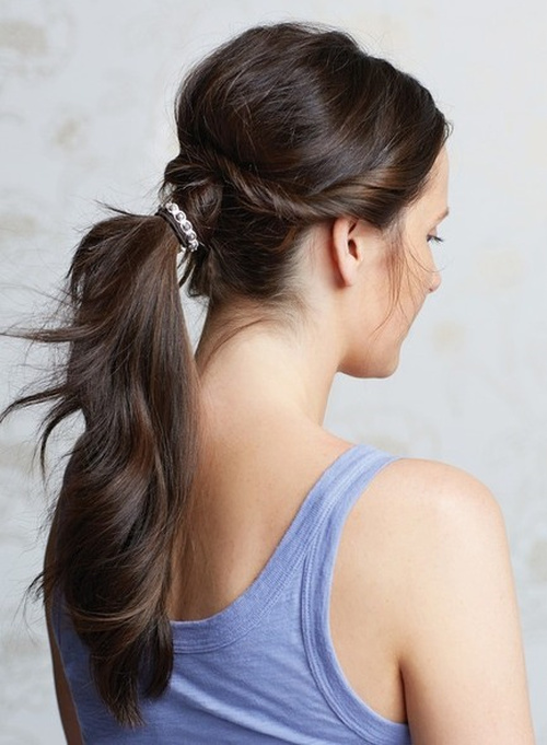 Homecoming Hairstyles For Long Hair homecoming hairstyles for long hair Homecoming Updo With A Pony