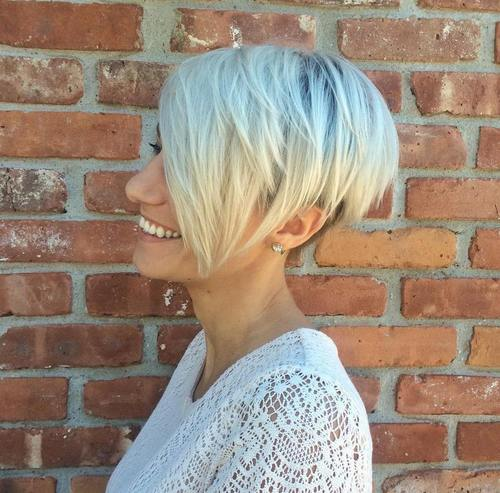 60 Gorgeous Long Pixie Hairstyles of 48 by Hailey