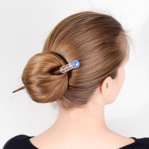 Sleek Casual Bun Updo