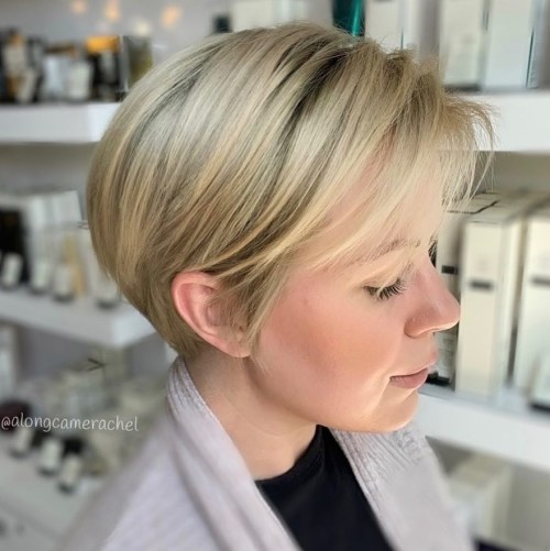 Long Pixie For Straight Fine Hair