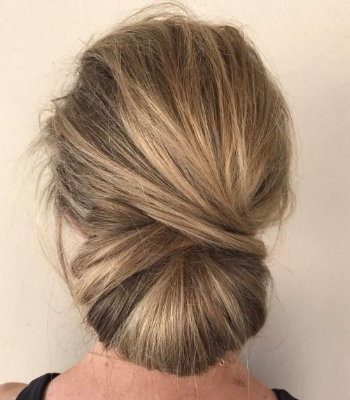 Formal Messy Chignon