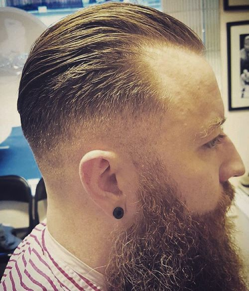 Hipster Hairstyle For Receding Hairline