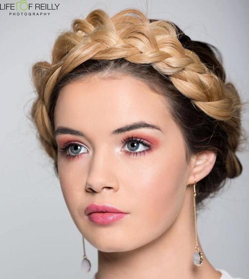 Peachy 40 Breezy Crown Braid Hairstyles For Summer Short Hairstyles For Black Women Fulllsitofus