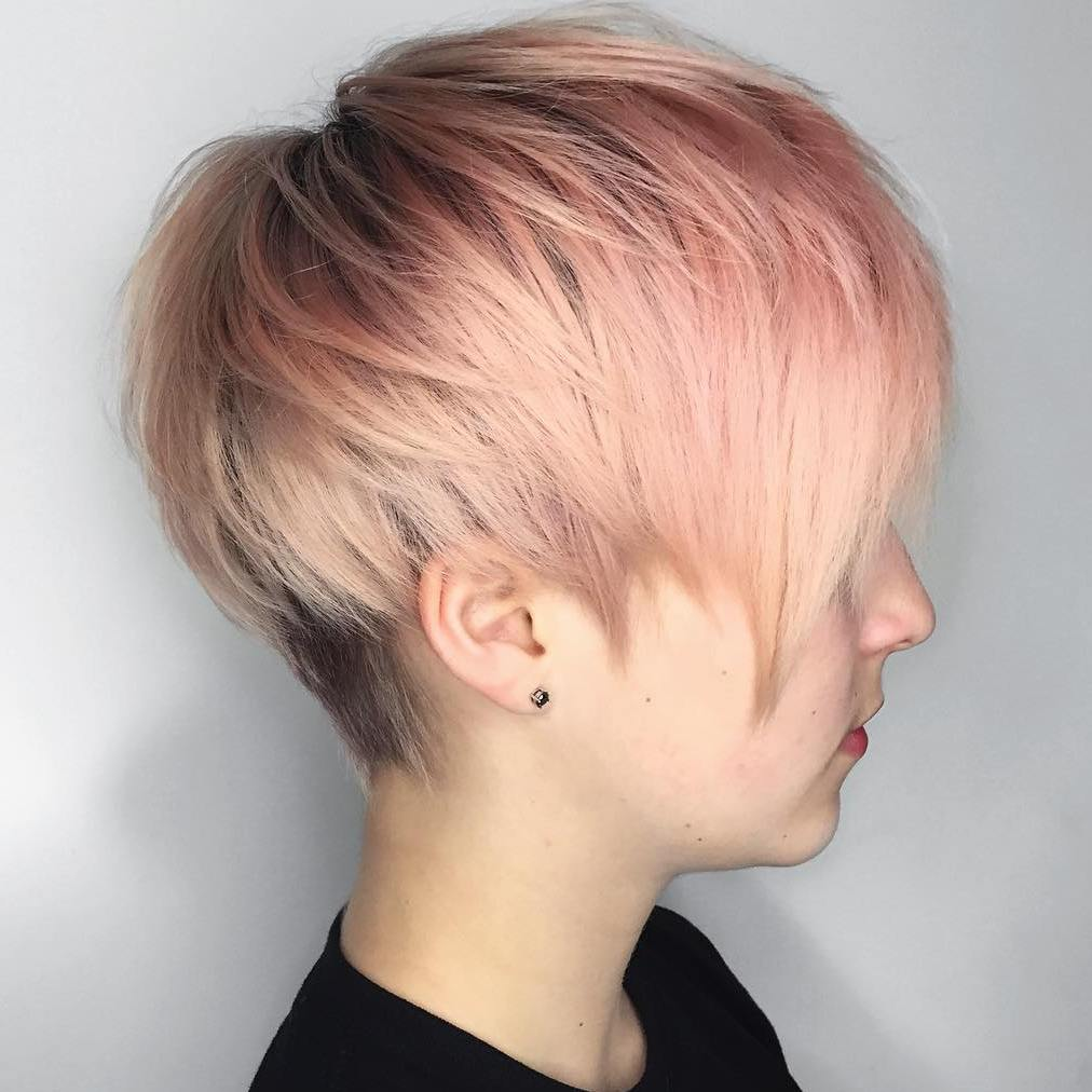 60 Gorgeous Long Pixie Hairstyles of 34 by Hailey