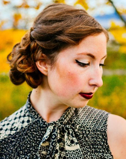 Phenomenal 30 Creative Updos For Curly Hair Short Hairstyles Gunalazisus