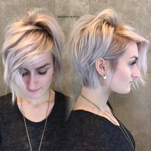 Low Maintenance Long Pixie