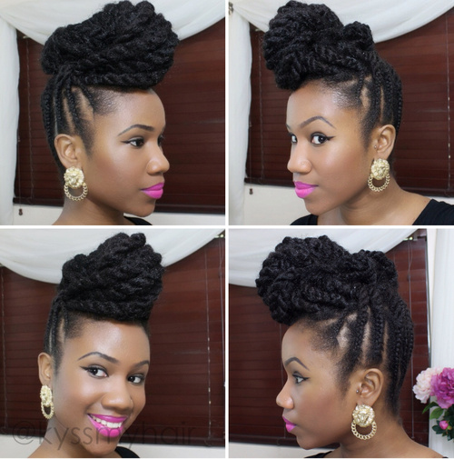 Terrific 10 Unique Black Braided Updos Hairstyles For Women Draintrainus