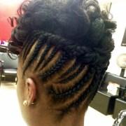 cute updos natural hair