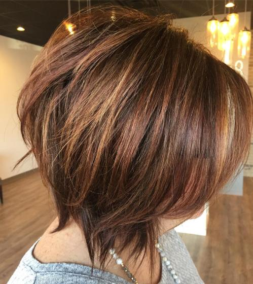 Full-Bodied Messy Razored Bob
