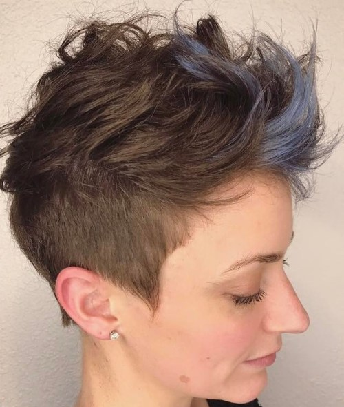 Spiky Pixie Undercut Hairstyle