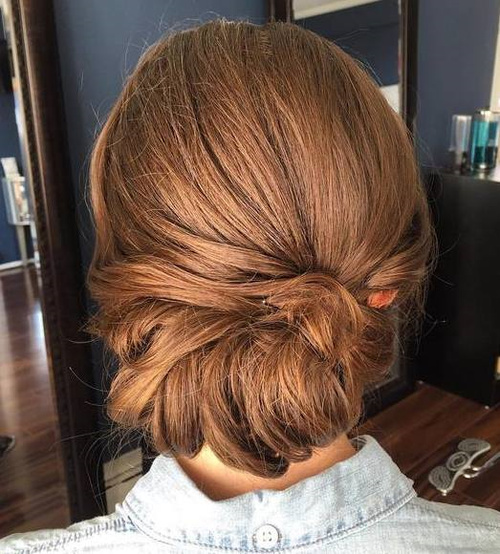 Low Roll Updo