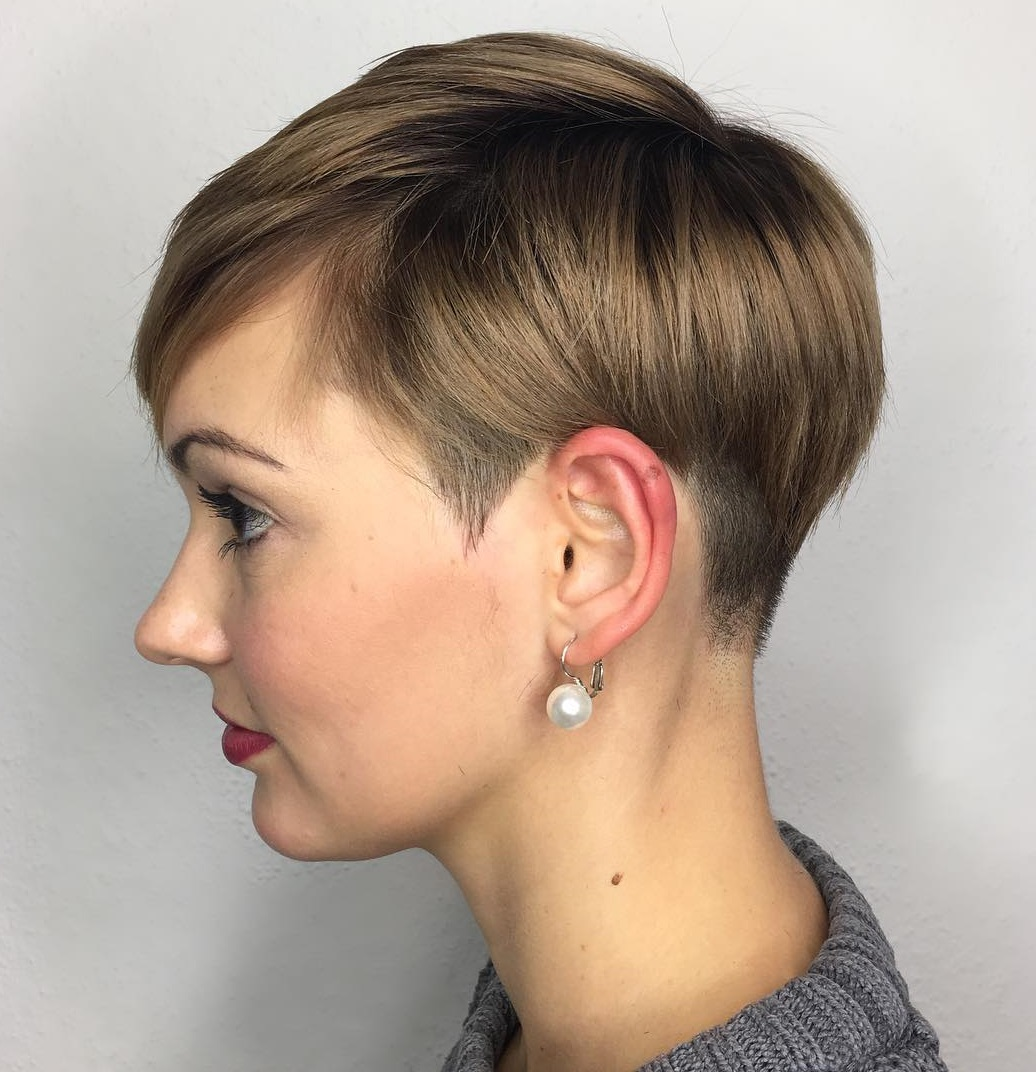 Short Boyish Haircut For Girls