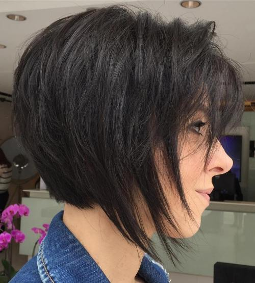 how to cut hair with short layers at home