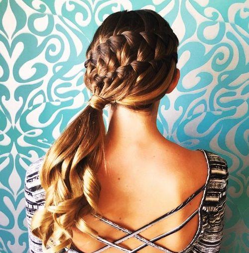 Peachy 30 Elegant French Braid Hairstyles Short Hairstyles Gunalazisus