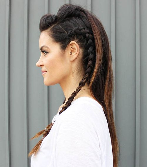 Stupendous 40 Flirty And Fantastic Two French Braid Hairstyles Hairstyle Inspiration Daily Dogsangcom