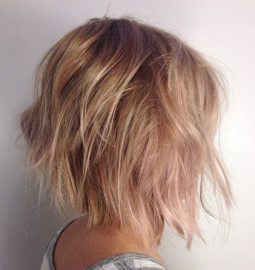 Why You Must Experience Messy Bob Hairstyles At Least Once In Your ...