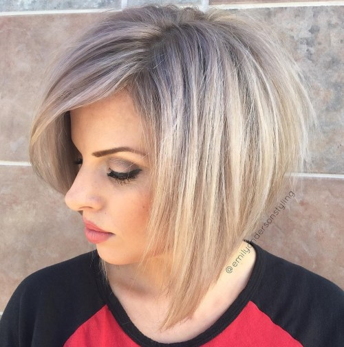 Tousled Bob with Layers