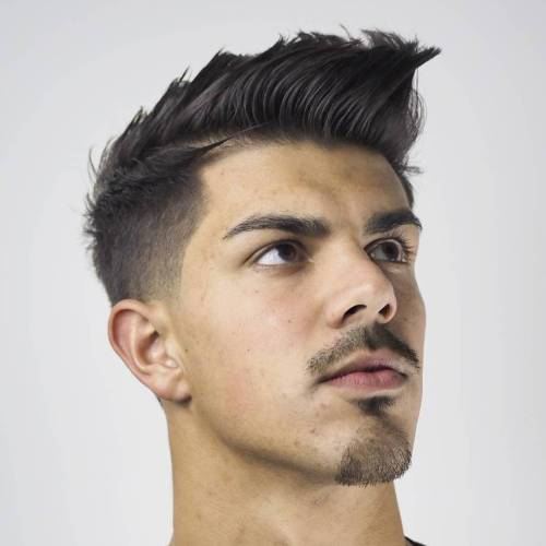 Men's Fauxhawk Haircut