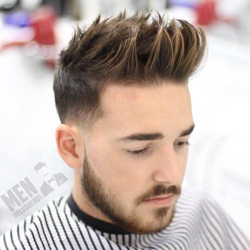 30 Spiky Hairstyles For Men In Modern Interpretation