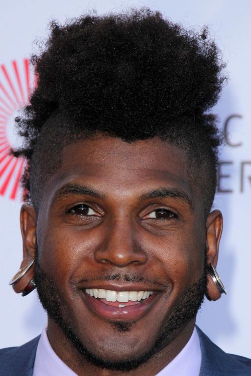 black men's mohawk hairstyle