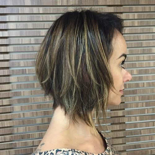 30 Trendy Short Haircuts for 2017 | Bobs, Thick short hair ...  |Bobbed Hair For Thick