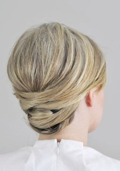 gorgeous formal updo for blonde hair