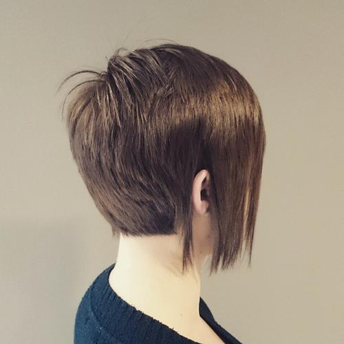 Marvelous 40 Short Bob Hairstyles Layered Stacked Wavy And Angled Bob Cuts Short Hairstyles Gunalazisus