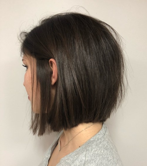 Choppy Bob Haircut For Fine Straight Hair