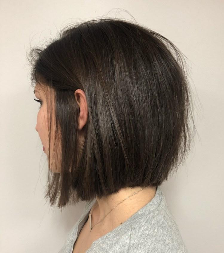 Choppy Bob Haircut For Fine Straight Hair