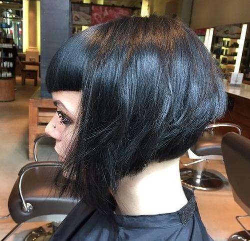 30 Beautiful and Classy Graduated Bob Haircuts - Bob Hairstyles For 2015