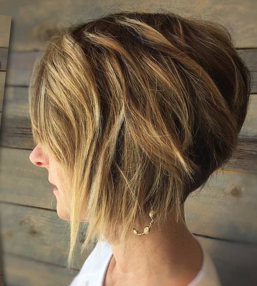 40 new short bob haircuts and hairstyles for women in 2017 short chopped balayage bob urmus Image collections