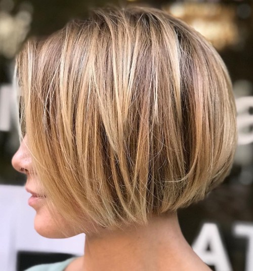 Very Short Textured Bob Hairstyle