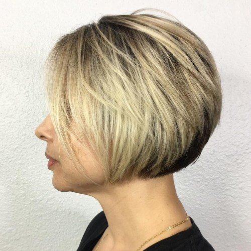 Extra Short Feathered Bob