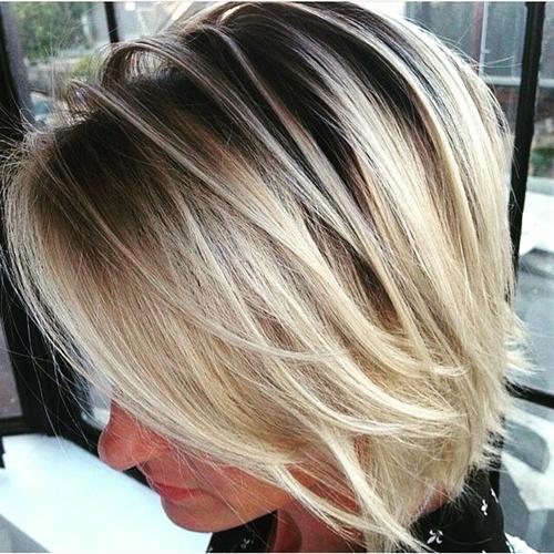 Awe Inspiring 40 Banging Blonde Bobs Short Hairstyles Gunalazisus