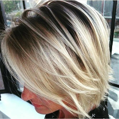 Outstanding 40 Banging Blonde Bobs Hairstyle Inspiration Daily Dogsangcom