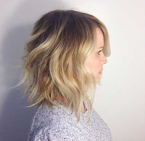 Fabulous 50 Inspiring Long Bob Hairstyles And Haircuts Short Hairstyles Gunalazisus