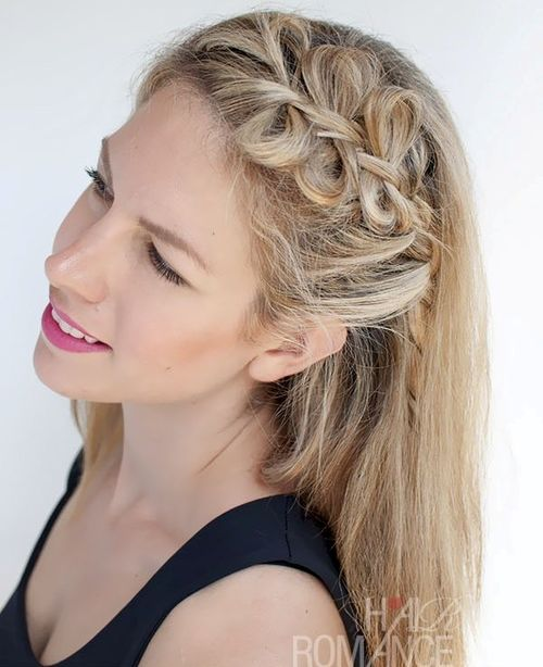Astonishing Braided Ponytail Hairstyles 40 Cute Ponytails With Braids Short Hairstyles Gunalazisus