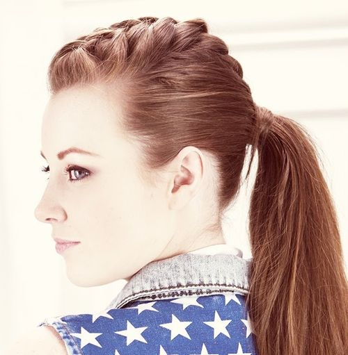 braided ponytail hairstyles 40
